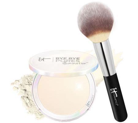 Bye Bye Pores Pressed it cosmetics bye bye pores pressed illumination with brush