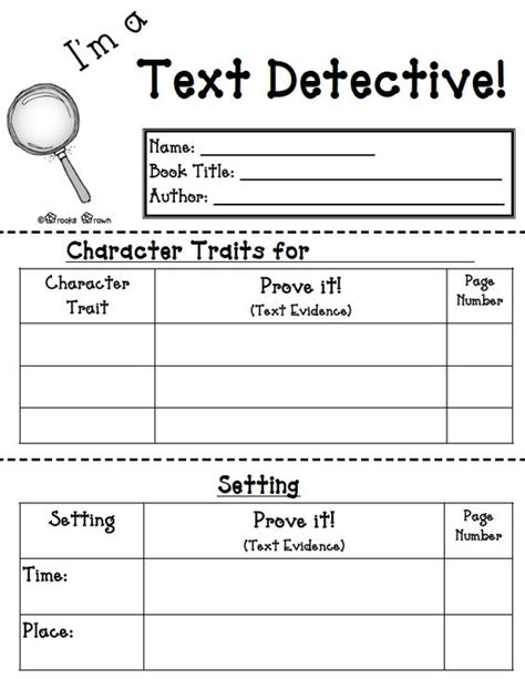 printable reading games for 4th grade free language arts lesson i m a text detective free