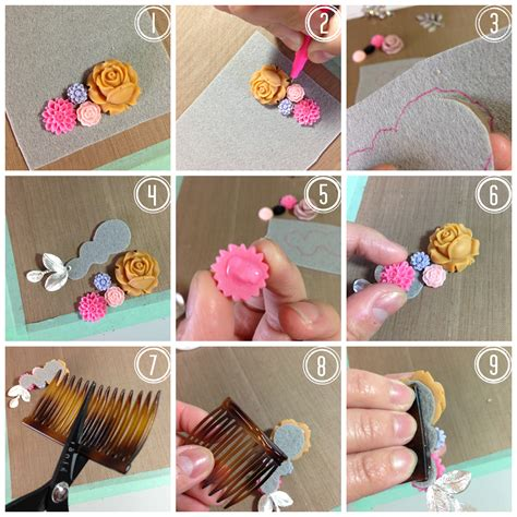 how to make hair jewelry 15 easy to make diy accessories