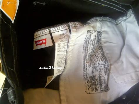 Celana Levis Corak suba21shop cara mudah membedakan celana levi s original dengan yang levi s