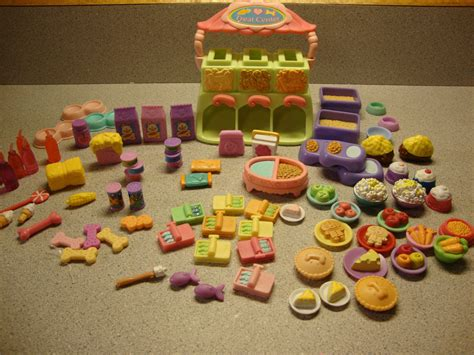 food and accessories littlest pet shop lot treat center food accessories