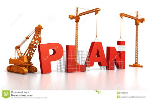 build a planner building a plan stock images image 17155974