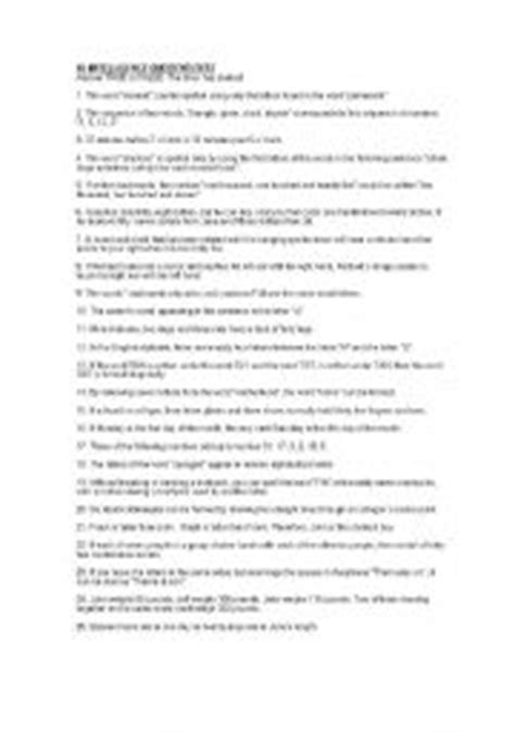 printable iq test for students iq test for 6th graders 2nd grade iq test page 3iq for