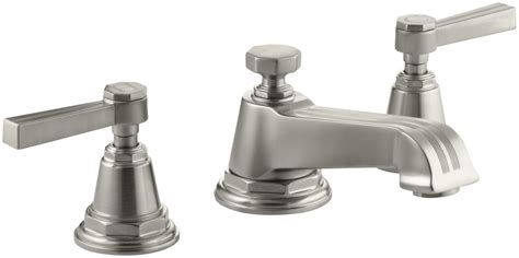 Kohler Pinstripe Faucet Faucet Com K 13132 4b Bn In Brushed Nickel By Kohler