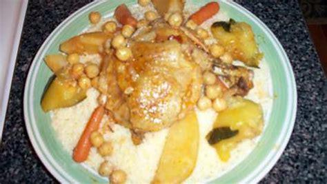 cuisine alg駻ienne couscous recette de couscous algerien