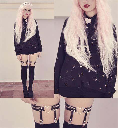 kawaii pastel goth fashion tumblr pastel and goth stand out your youtopia