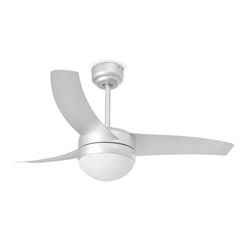gray ceiling fan with light faro ceiling fan easy grey 105 cm 41 quot with lighting and