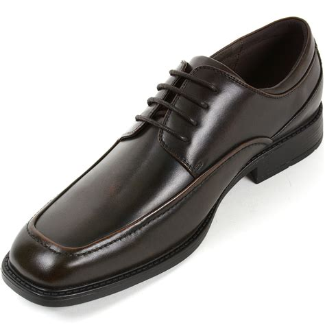 Dress Shoe Lace Up by Alpine Swiss Claro Mens Oxfords Dress Shoes Lace Up Classic Casual Derby Loafers Ebay