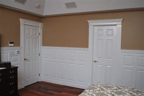 bedroom wainscoting wainscoting beadboard with raised panel headboard
