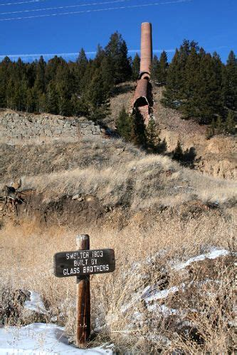 basin montana mining camp  artists retreat legends  america