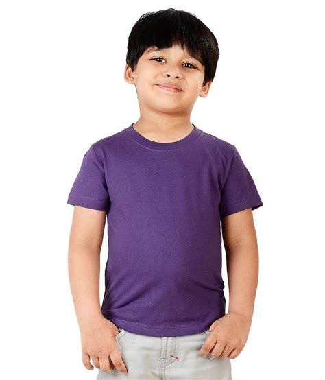 2733 Boys Tshirt neevov purple neck t shirt half sleeve for boys buy neevov purple neck t shirt