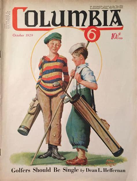 imagenes vintage golf columbia magazine oct 1929 golf related www