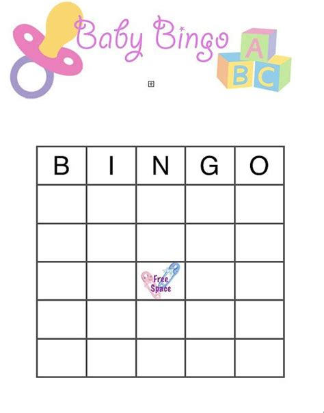 baby shower bingo card templates free baby shower bingo printable on etsy 1 50 baby shower
