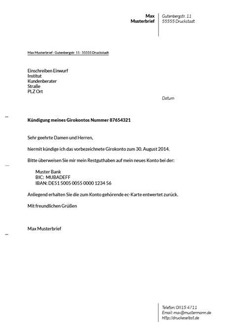 Handyvertrag Kündigen Blau De Vorlage K 252 Ndigung Girokonto Vorlage Comdirect Hotline