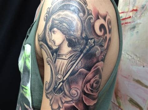 tattoo angel show medieval tattoo the medieval angel tattoo shows a
