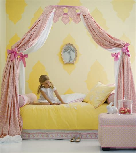 little girl bed canopy bedroom white carving wood canopy bed for teen girls next