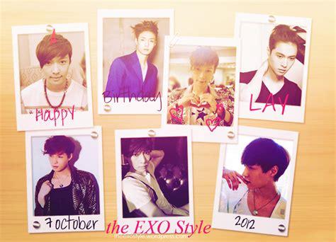 exo members birthdays happy birthday to exo m s lay