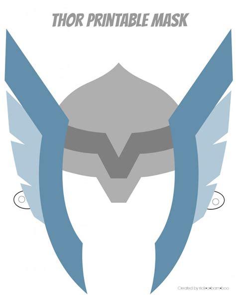 thor helmet template mask printable www pixshark images