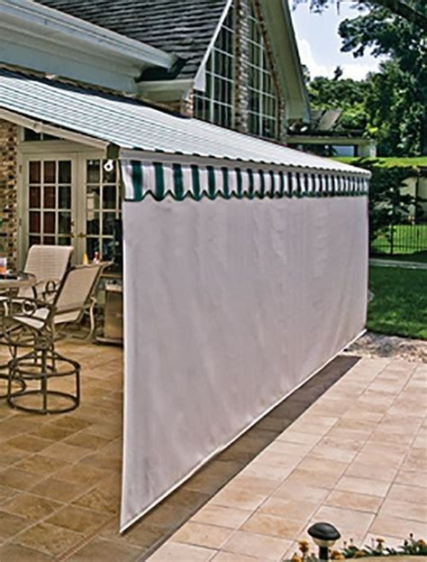 patio awnings with side screens patio awnings with side screens images about desain