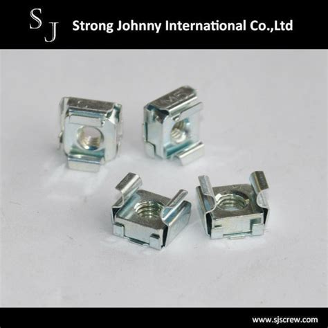 Cage Nuts Bolt types of nuts zinc plated steel weld cage nuts and bolt