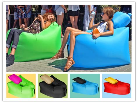 inflatable recliner chair beach sofa promotion shop for promotional beach sofa on