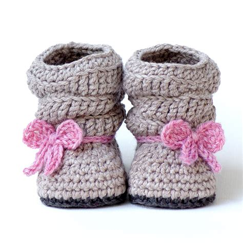 Baby Boot crochet pattern 217 baby slouch boot boot instant