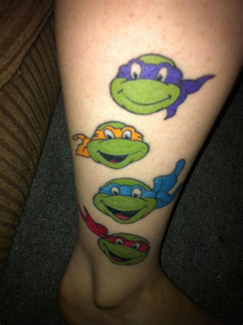 ninja turtle nose tattoo 20 turtle tattoos and turtle meanings magment