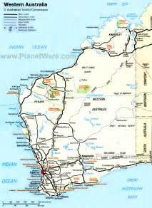 map western australia western australia road map images