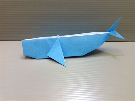 How To Make An Origami Whale - daily origami 119 whale