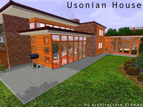 usonian house framedarchitecture s usonian house
