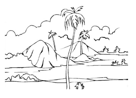 coloring pages desert landscape desert landscape coloring pages free coloring pages