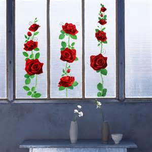 rose wall stickers rose flower wall stickers on walls wallstickery com