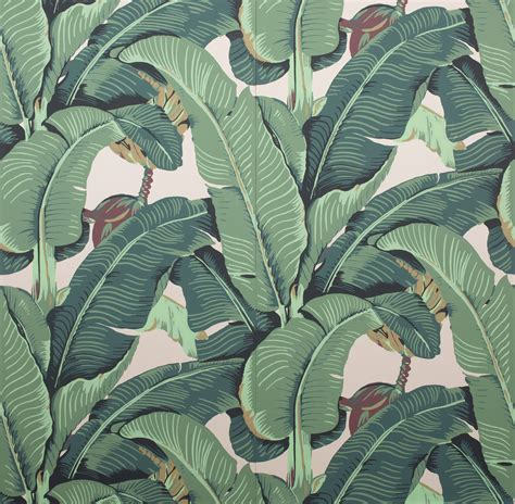 banana leaf wallpaper beverly hills hotel 8 classic wallpaper patterns photos architectural digest