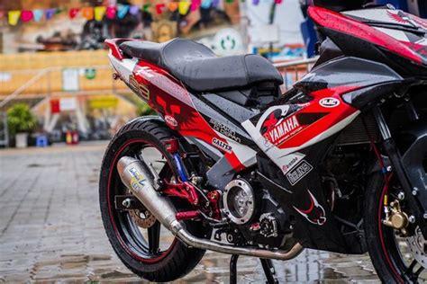 modifikasi jupiter mx ala motogp inspirasi modifikasi ala motogp valentino dan