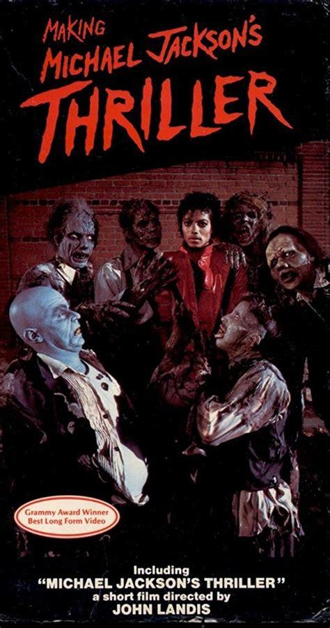 jackson thriller 5 books michael jackson thriller 1983 imdb