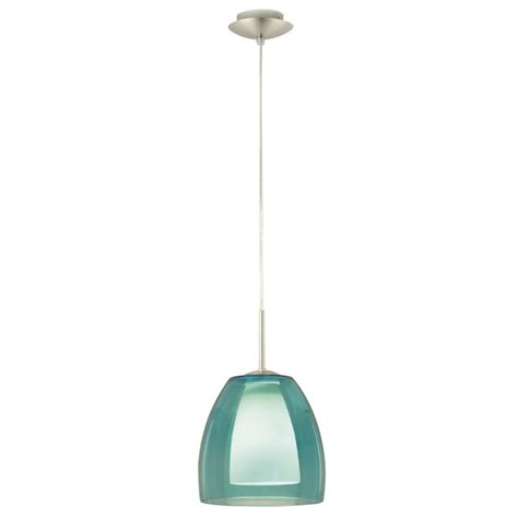 Teal Pendant Light Teal Blue Coloured Glass Pendant Light For The Home