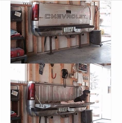 redneck home decor tailgate redneck garage home decor pinterest
