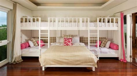2 beds in 1 21 most amazing design ideas for four kids room