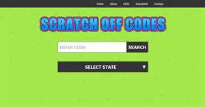 Budsnolatdi Code Letters On Bingo Scratch Off