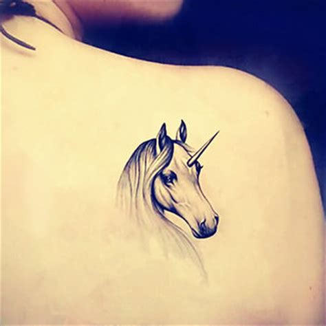 unicorn tattoos designs ideas and meaning tattoos for you