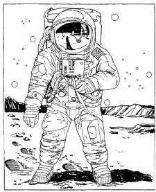 astronaut coloring pages mostly paper dolls september 2012