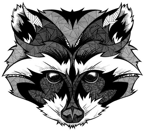 cartoon raccoon tattoo 656 best images about adult coloring pages on pinterest