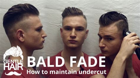how to give myself the best hairstyle with a widows peak for men how to cut bald fade and how to maintain your undercut by