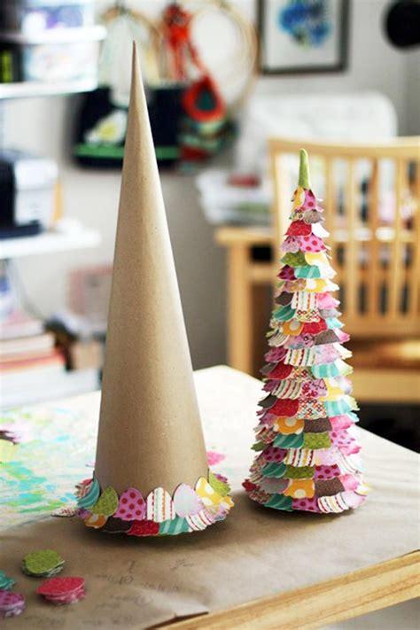 arboles muy coloridos  esta navidad  material reciclado como hacer todo