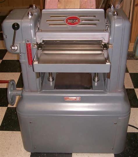 delta woodworking machines delta manufacturing co 22 101 planer vintagemachinery