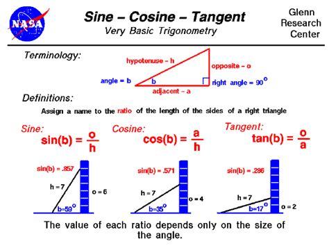 calculator sin cos tan 1 19 8 4 sine and cosine ratios room 13
