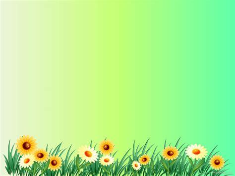 Sun Flower Background New Graphicpanic Com Flowers Garden Powerpoint Templates Flowers
