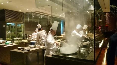 chinese restaurant kitchen design embracing the open kitchen restaurant atc food safety