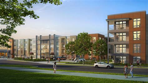 High Rise Apartments In King Of Prussia Pa Live Work Play Mixed Use Ktgy Architects