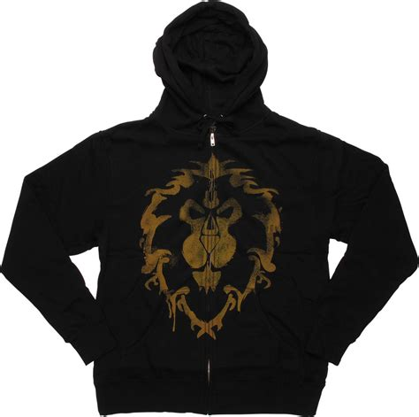 Hoodie Warcraft For The Alliance Fightmerch world of warcraft alliance logo hoodie